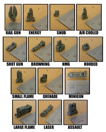 Robot Parts - 10 x Robot Weapon Arms - £10.00 : Zen Cart!, The Art of E-commerce
