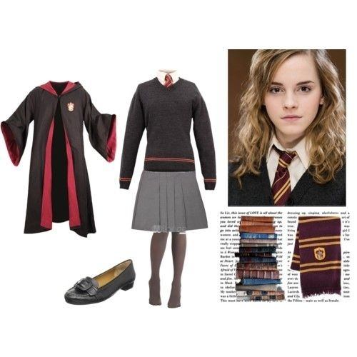 Hermione Granger from Harry Potter | Hogwarts outfit ...