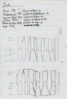Викторианский корсет - Узор на sidneyeileen