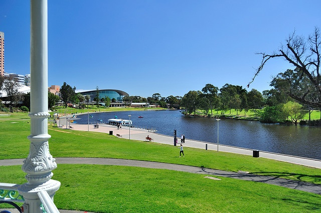 The River Torrens and Adelaide Parklands