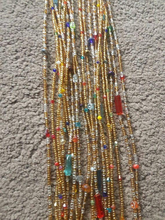 Check out this item in my Etsy shop https://www.etsy.com/uk/listing/521046462/waist-beads-gemstones