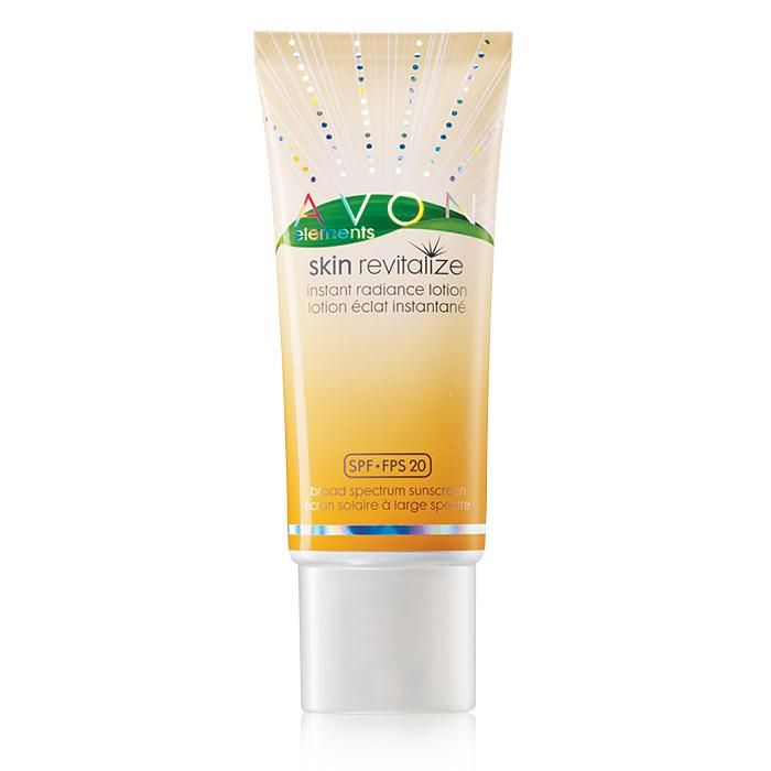 Avon Elements Skin Revitalize Instant Radiance Lotion Broad Spectrum SPF 20