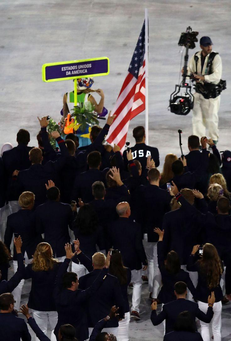 Michael Phelps's Olympics Uniform Lights Up, FYI  - Cosmopolitan.com