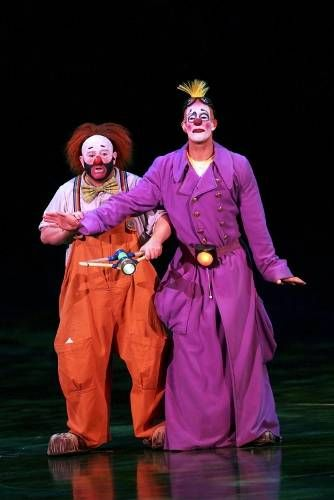 Cirque du Soleil Clowns..Top blokes! And funny too!