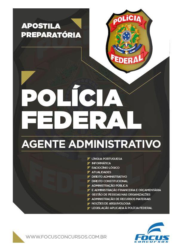 Apostila para Agente Administrativo da Polícia Federal 2016