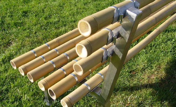 Bambusrohr-Verbinder BAMBOOTIX -II- (Zum Vergrößern bitte Bild anklicken)