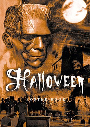 Halloween Poster Book Vol.2 - Author: Sauer Sven @ niftywarehouse.com #NiftyWarehouse #Frankenstein #Halloween #Horror #HorrorMovies #ClassicHorror #Movies