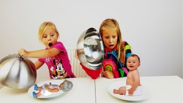Обычная еда ПРОТИВ Детского питания! Папа ПЛАЧЕТ Baby Food vs BIG Food Challenge http://video-kid.com/20662-obychnaja-eda-protiv-detskogo-pitanija-papa-plachet-baby-food-vs-big-food-challenge.html  Обычная еда ПРОТИВ Детского питания! СЮРПРИЗ ПОД КРЫШКОЙ Папа ПЛАЧЕТ Baby Food vs BIG Food ChallengeКОНКУРС на 5 ГИРОСКУТЕРОВ среди подписчиков ! УСЛОВИЯ : КАК ТОЛЬКО на одном из НАШИХ 8-ми каналов будет 500 000 подписчиков , МЫ РАЗЫГРАЕМ первые 5 ГИРОСКУТЕРОВ !1) КАНАЛ Мамы и Папы ( Maxim…