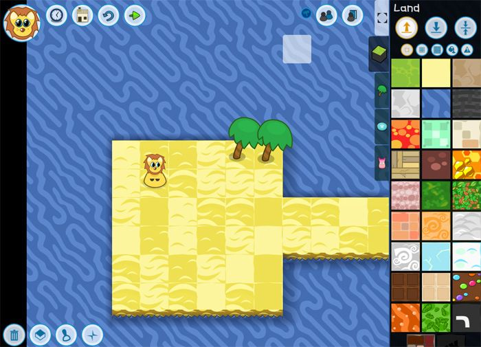Code Kingdoms is a fun website that teaches coding skills in a way that's engaging for kids. Kids use real JavaScript code to design their own game worlds and then challenge friends to complete them.