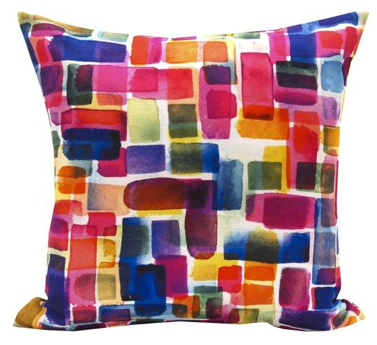 Bold splashes of colour perfect for this season. Brighten up your home décor with this cushion from WAM Home Décor http://wamhomedecor.com.au/index.php/paint-dabs-cushion-45x45cm.html