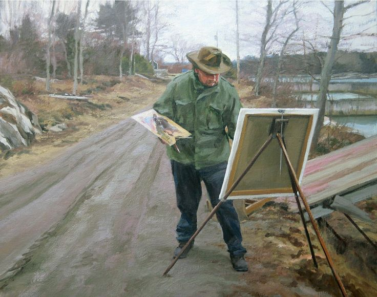 Portraiture, figurative and landscape painting in oil, acrylic, and watercolor by Tom Hughes