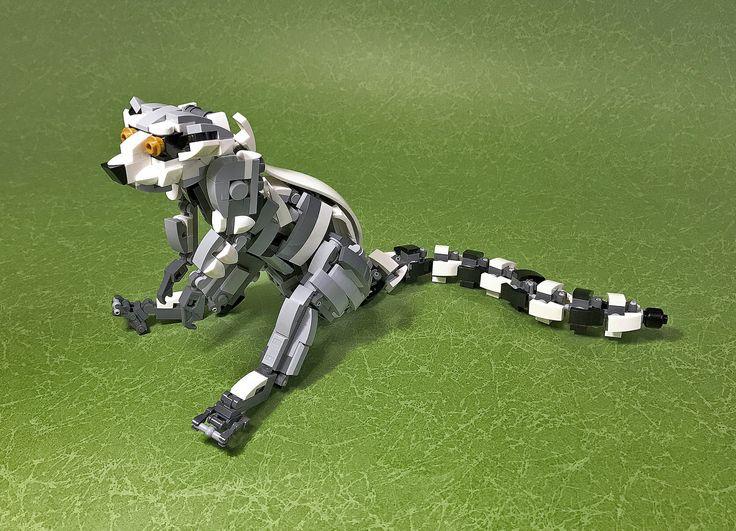 LEGO Mecha Ring-tailed lemur-05 | by ToyForce 120