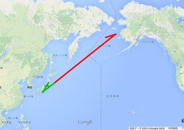 "Fukushima Diary: NRA reports ""Marine soil contamination stretches S-W to N-E"" / N-E from Fukushima plant is Alaska"