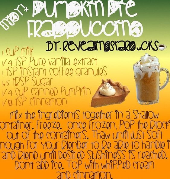 Starbucks recipe - DEF. gonna try this