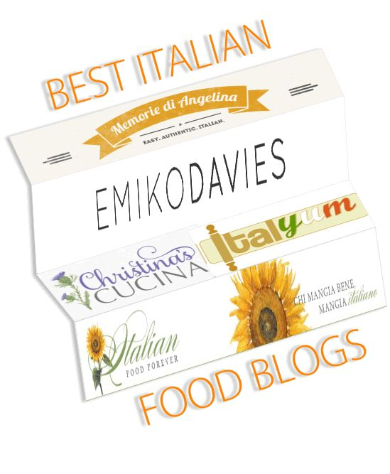 Check Out Some Of The Best Italian Food Blogs On The Web That You Can't Miss...