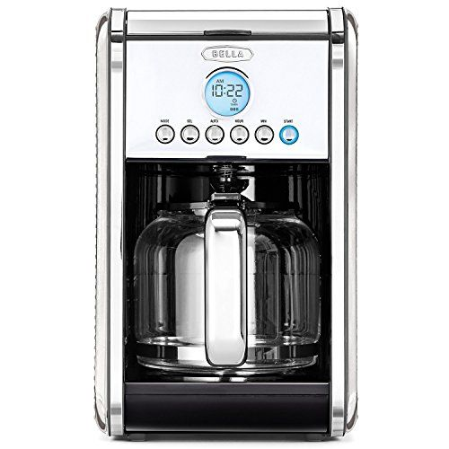 Special Offers - BELLA LINEA Collection 12 Cup Programmable Coffee Maker Polished Stainless Steel 14391 - In stock & Free Shipping. You can save more money! Check It (October 16 2016 at 07:23AM) >> http://coffeemachineusa.net/bella-linea-collection-12-cup-programmable-coffee-maker-polished-stainless-steel-14391/