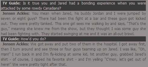 Jensen Ackles And Jared Padalecki's Epic Bromance - BuzzFeed Mobile