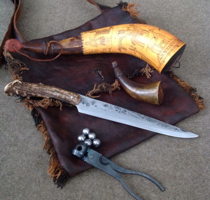 """One of my """"kits""""! This one will go with my new Lehigh Valley Flintlock…"""