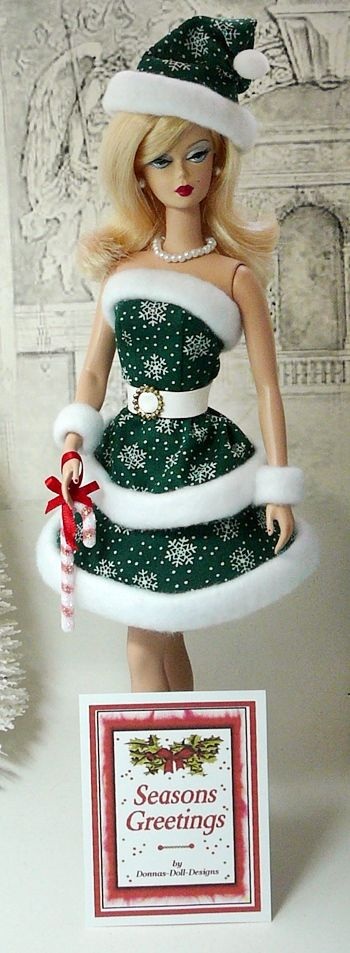 Christmas Holidays Barbie