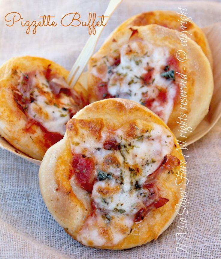 Pizzette buffet ricetta facile garantita