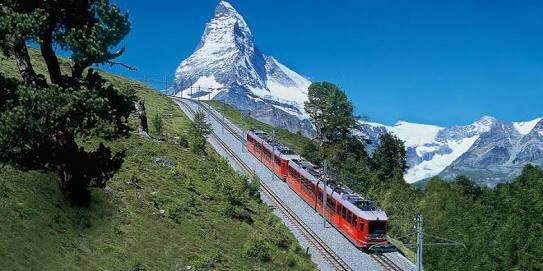 Rail and cable-car facilities have been built to make some of the summits in the area more accessible. The Gornergrat railway, reaching a record altitude of 3,100 metres, was inaugurated in 1898. Areas served by cable car are the Unterrothorn and the Klein Matterhorn.