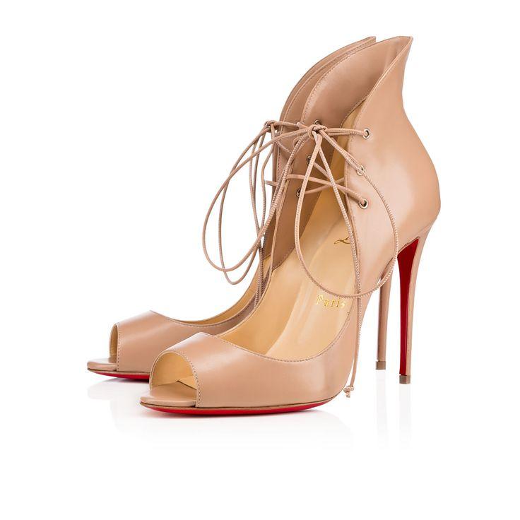 christian louboutin youpi leather peep toe | Landenberg Christian ...