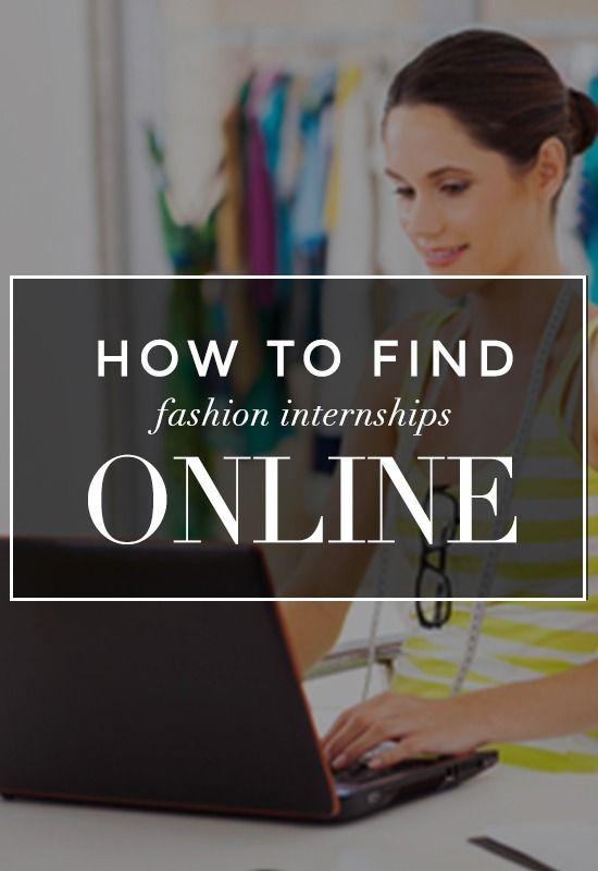 Find a Fashion Internship Online