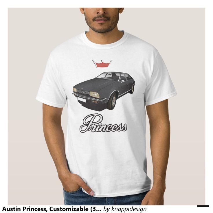 Austin Princess, Customizable (3x img) black Shirts  #austin #morris #princess #leyland #automobile #classic #tshirt #70s #black