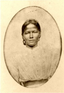 Black American Indian.  She is one of the most beautiful women I have ever seen.