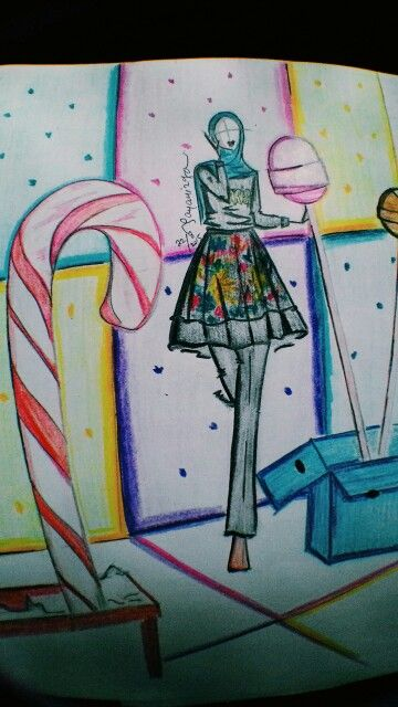 Candy land from dian pelangi's picture