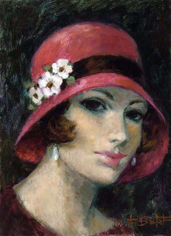 François Batet 1921 | Spanish Art Déco painter | Tutt'Art@ | Pittura * Scultura * Poesia * Musica |