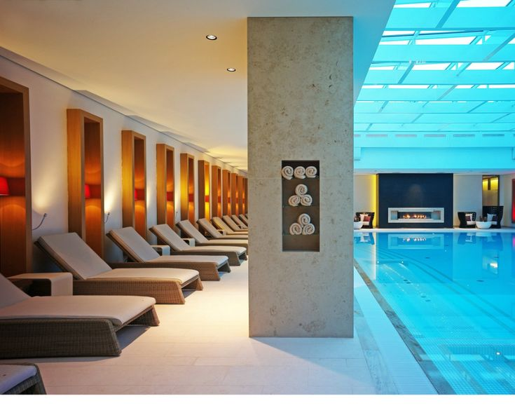 Swimming Pool And Relaxation Area And Swimming Pool With Natural Light In The Hotel Severin S Resort And Spa On Sylt Swimming Pools Luxury Spa Pool