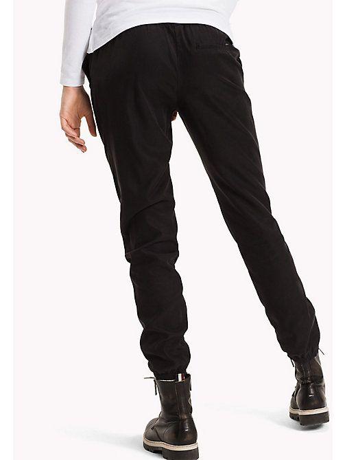 cheap for discount e3676 74aed TOMMY JEANS Pantaloni da tuta misto tencel - BLACK BEAUTY ...