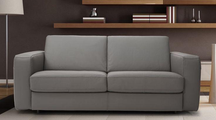 Monza, pohovka, kožená sedačka Luxesofa