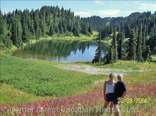 Hike Todd Mountain in the Summer at Sun Peaks - Photo of Todd Lake