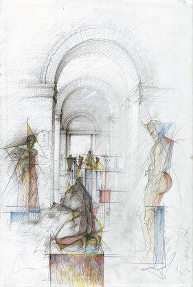 ceruza halála – építészeti rajzok régen és ma
