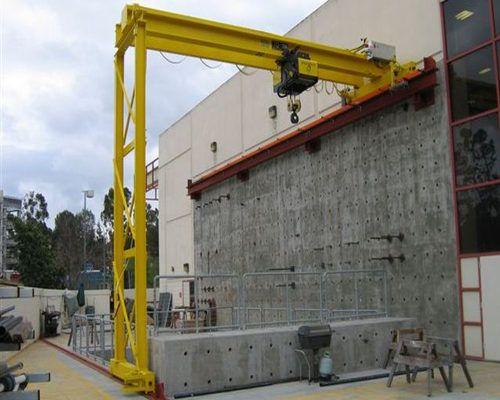 Ellsen semi single girder gantry cranes for sale | Ellsen Gantry