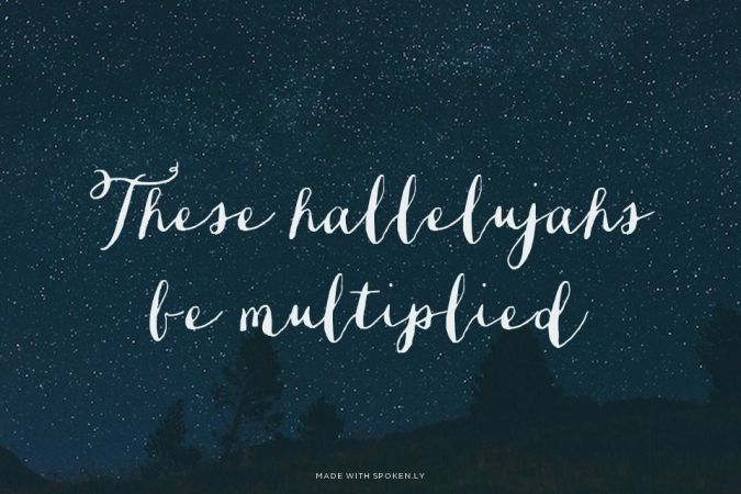 Multiplied- NEEDTOBREATHE