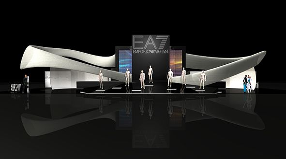 EA7 booth project