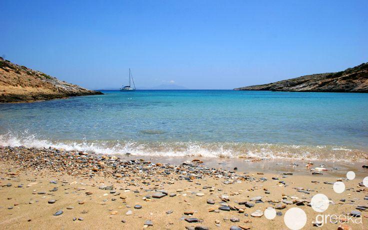 Schinoussa island, in the Small Cyclades