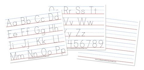 A-Z Tracing Worksheets | Confessions of a Homeschooler