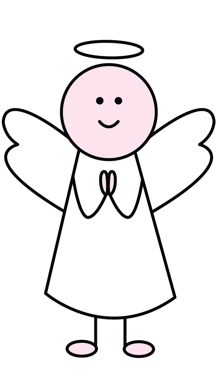 Try to draw this cute little angel step by step. It's easy and we guarantee your kids will love it! http://drawingmanuals.com/manual/how-to-draw-an-angel/