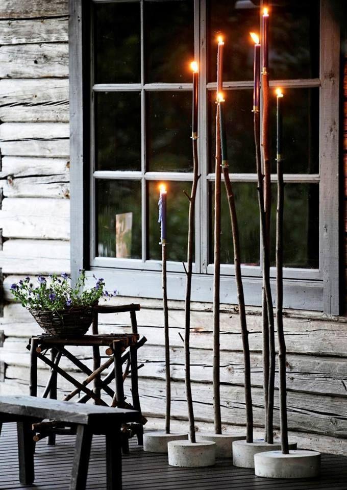 Wunderhübsche Idee für den Garten l Betonfuß mi…