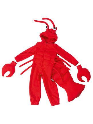 burda style, Schnittmuster für Fasching - Mit Füllwatte und Steppnähten verwandelt sich der Kapuzenoverall zum Krabbenkostüm