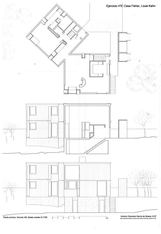 Casa Fisher Louis Kahn