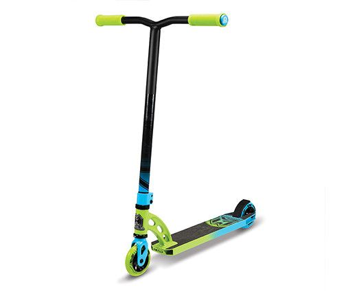 Madd Gear VX6 Pro Complete Scooter Green/Blue Kick
