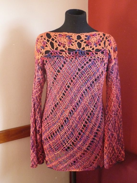 Tejidos a crochet y telar - Mujer - Tejidos de Punto - 73037