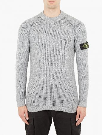Stone Island Grey Alpaca Blend Reversible Sweater The Stone Island Alpaca Blend Reversible Sweater for AW16, seen here in grey. - - - A unique style for AW16, this sweater from Stone Island is crafted in Italy from a wonderfully soft and warm alpaca- http://www.MightGet.com/january-2017-13/stone-island-grey-alpaca-blend-reversible-sweater.asp