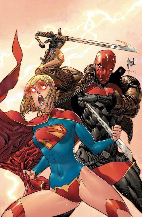 Guillem March - Supergirl and Red Hood
