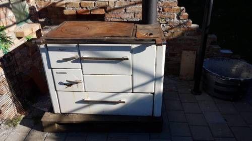 Alter Wamsler  Ofen für den Garten in Waidhofen